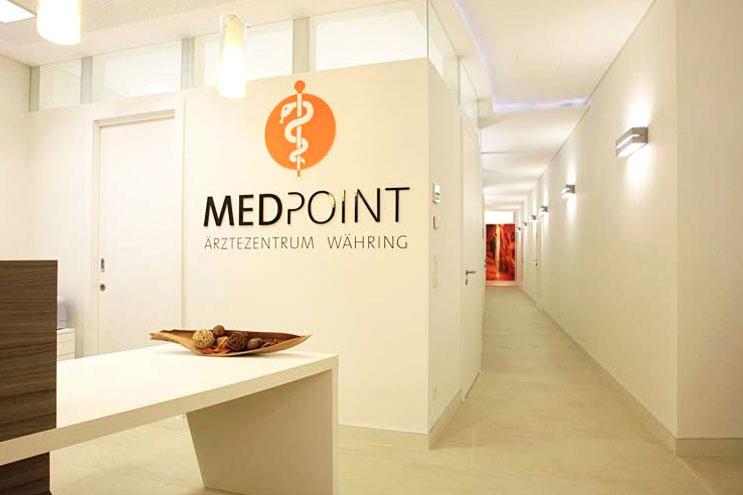 Empfangsbereich von MEDPOINT